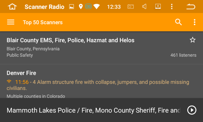 Listen in with Police Scanners - Insane Audio User Forum