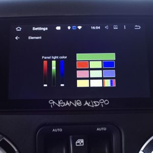 Customize the Panel Light Color of you JK2001 Head Unit