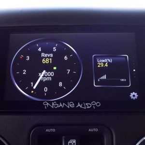 Get real time engine stats and clear codes with Insane Audio's JK2001 Head Unit